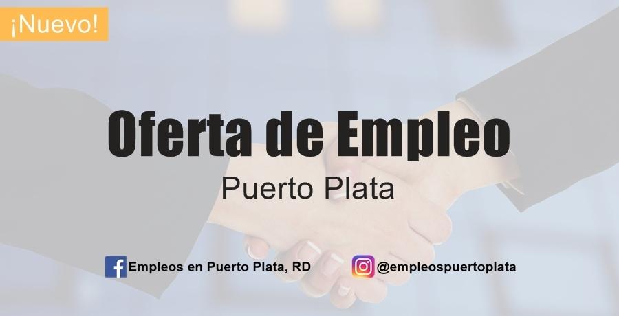 oferta de empleo para trabajar en vacante de Puerto Plata