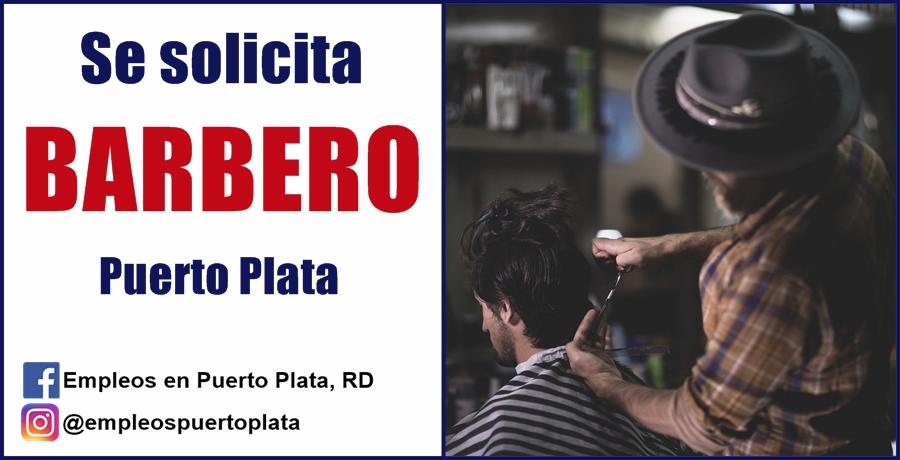 vacante empleo de barbero peluquero
