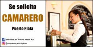 vacante de empleo de camarero mesero en republica dominicana