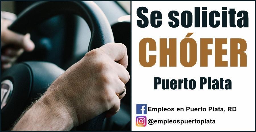 vacante de empleo de chofer chofer conductor en republica dominicana