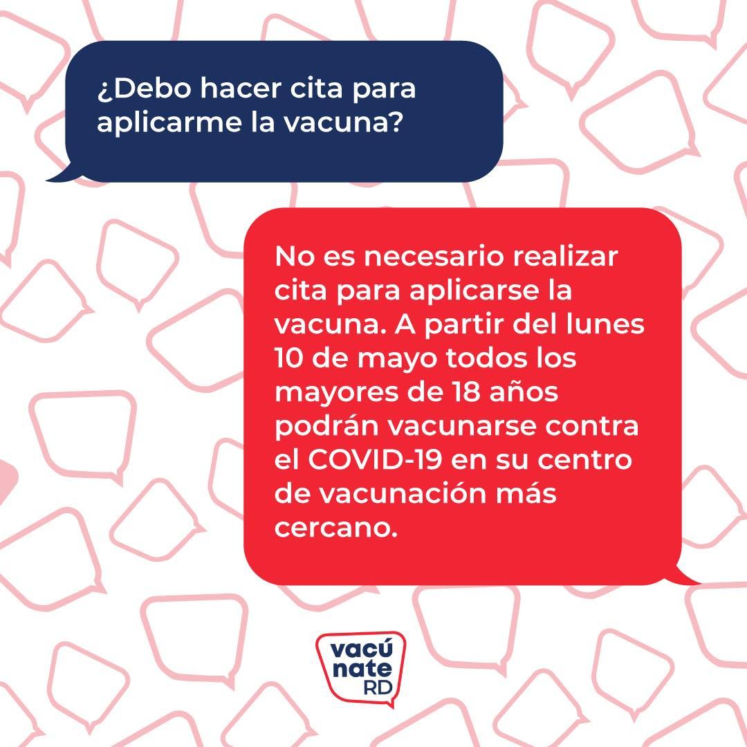vacuna covid-12 en republica dominicana