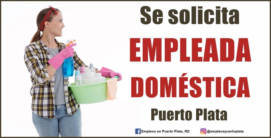 vacante de empleo de empleada domestica en republica dominicana